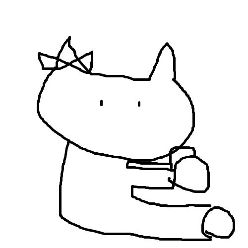 「キティちゃん」 by づま