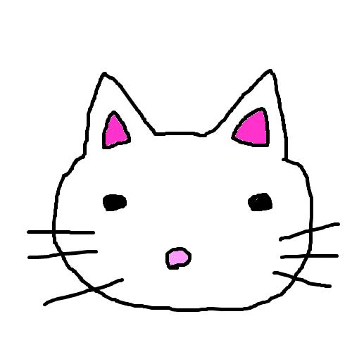「キティちゃん」 by 夫