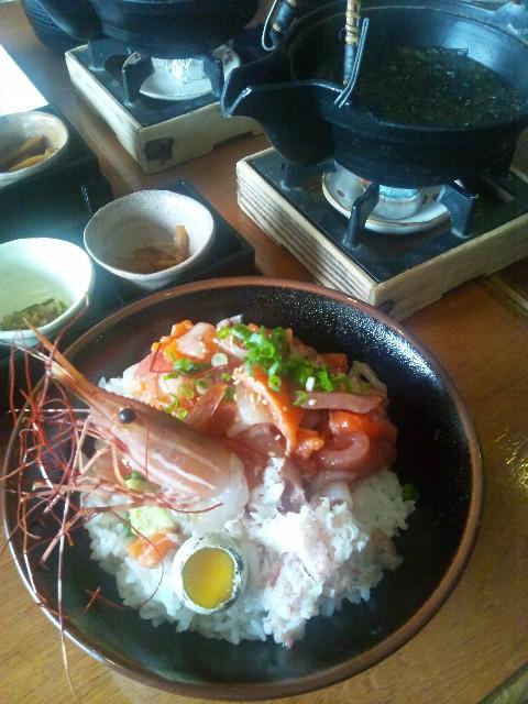海賊丼@伊豆高原ビール海の前のカフェレストラン