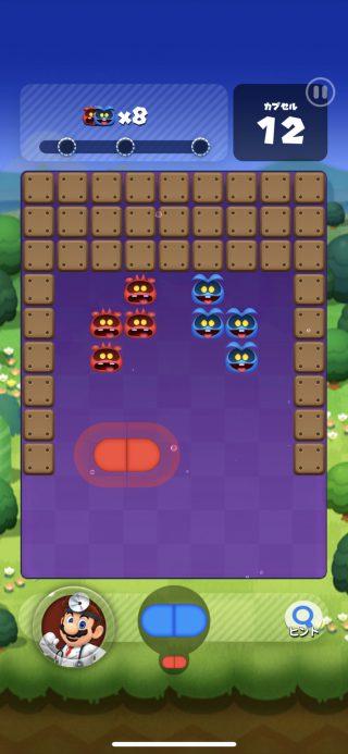 Dr. Mario World ゲーム画面