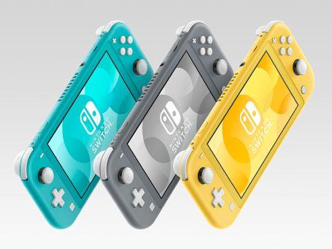 Nintendo Switch Lite カラーバリエーション