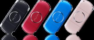 PSP カラーバリエーション