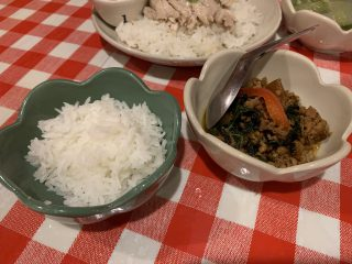 タイ料理 コ!ピーピー 溝の口店 ミニガパオライス